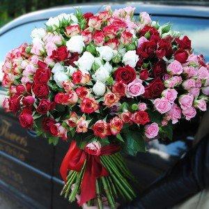 Rožių puokštė ''Svajonė''