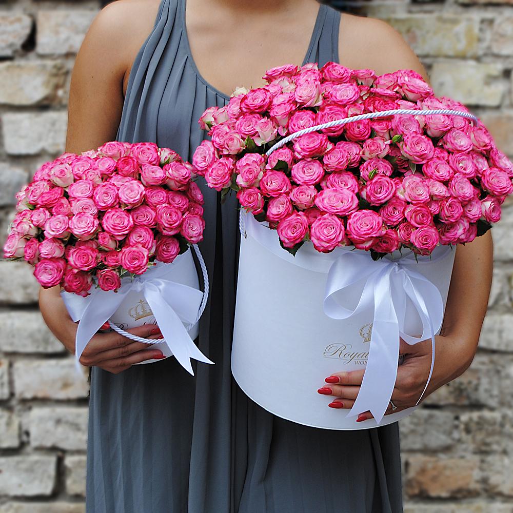 Rožinės rožytės dėžutėje AB