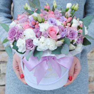 Gėlės dėžutėje MIX1