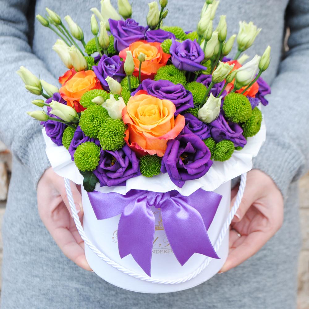 Gėlės dėžutėje - Mozaika